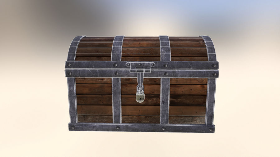 Chest royalty-free 3d model - Preview no. 2