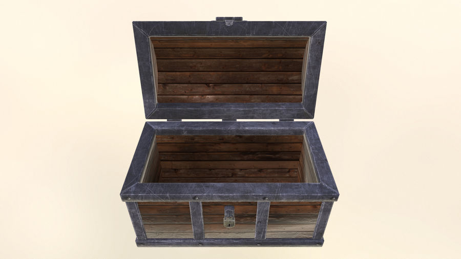 Chest royalty-free 3d model - Preview no. 7