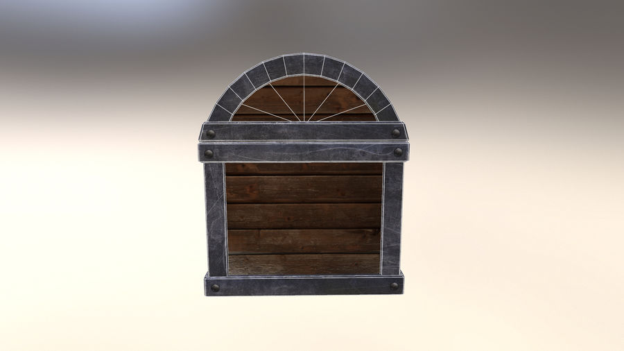 Chest royalty-free 3d model - Preview no. 6