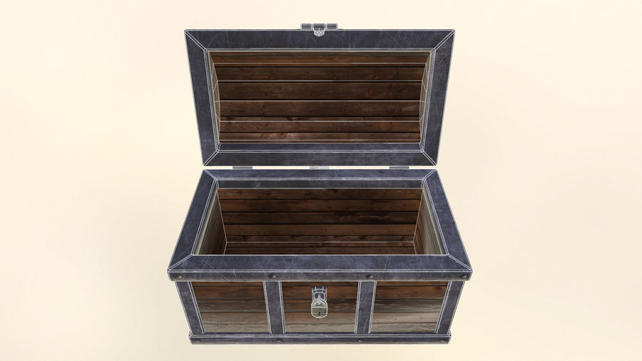 Chest royalty-free 3d model - Preview no. 8