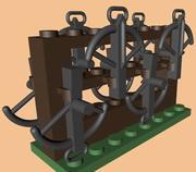 LEGO Crossbow Rack 3d model