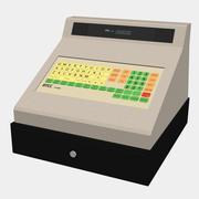 レジ:70年代-80年代 3d model