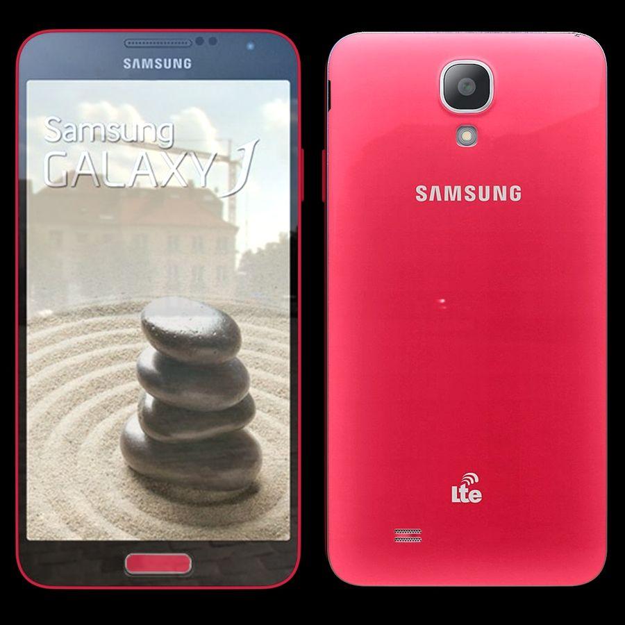 Samsung Galaxy J royalty-free 3d model - Preview no. 2
