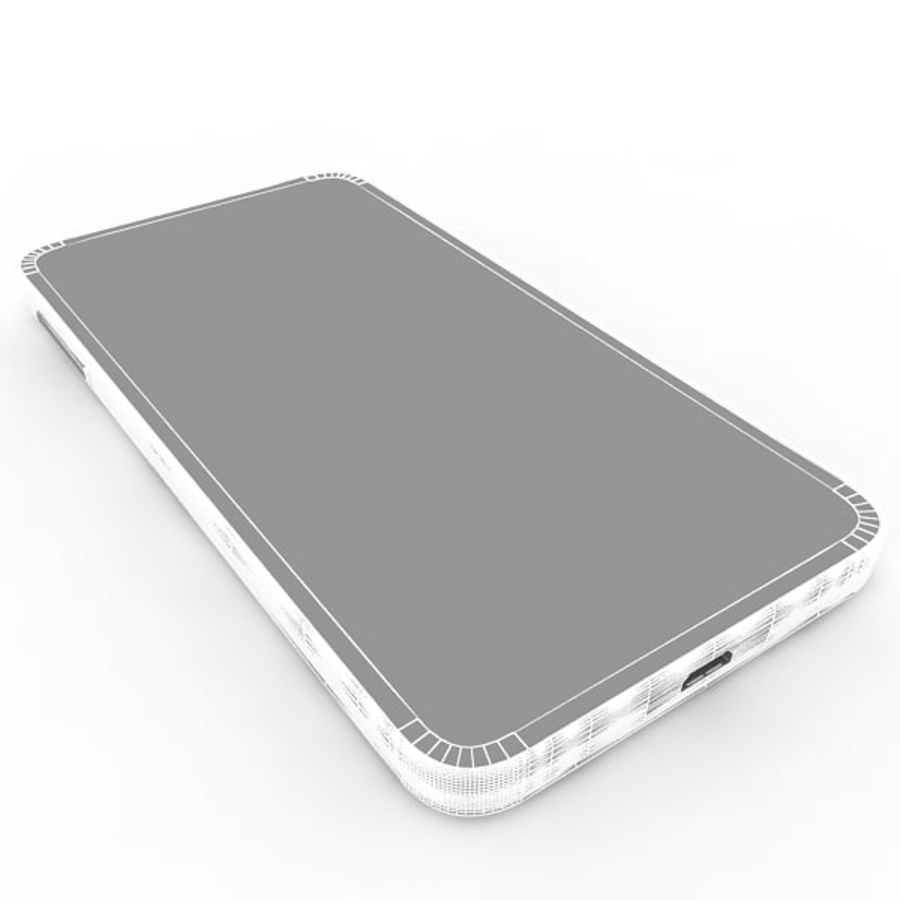 Samsung Galaxy J royalty-free 3d model - Preview no. 14