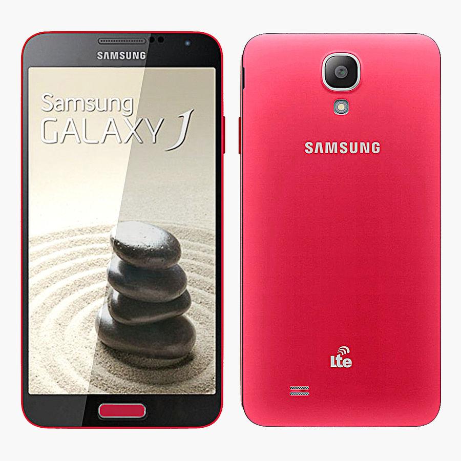 Samsung Galaxy J royalty-free 3d model - Preview no. 1