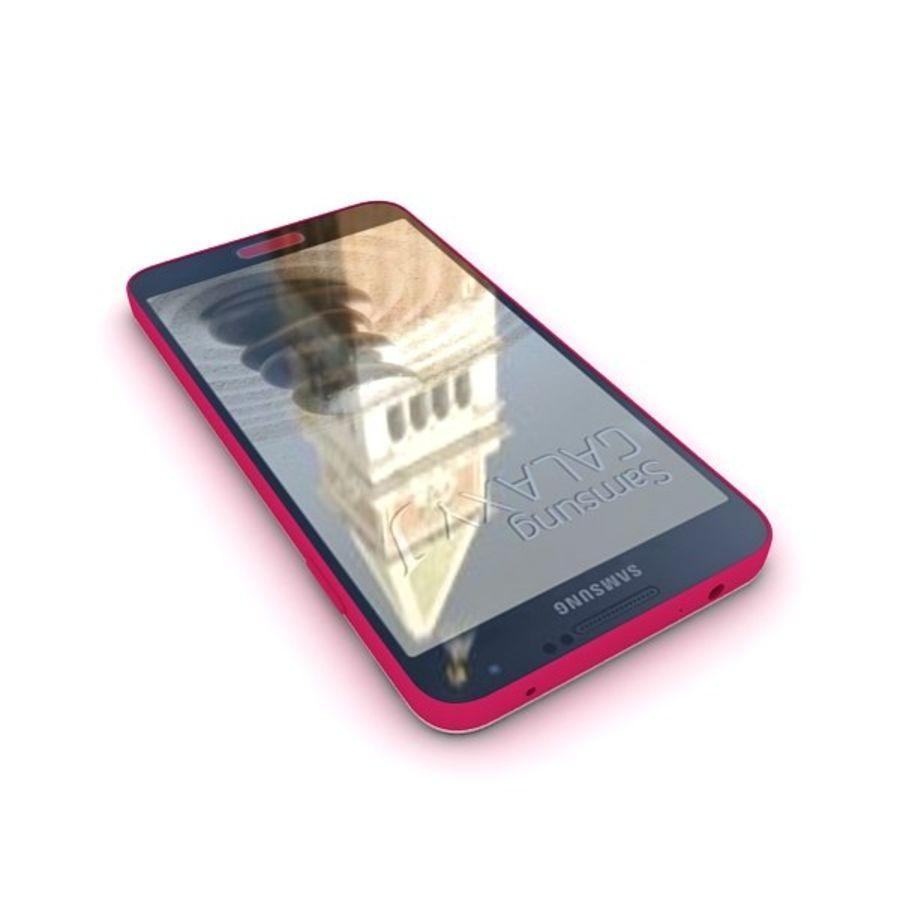 Samsung Galaxy J royalty-free 3d model - Preview no. 11