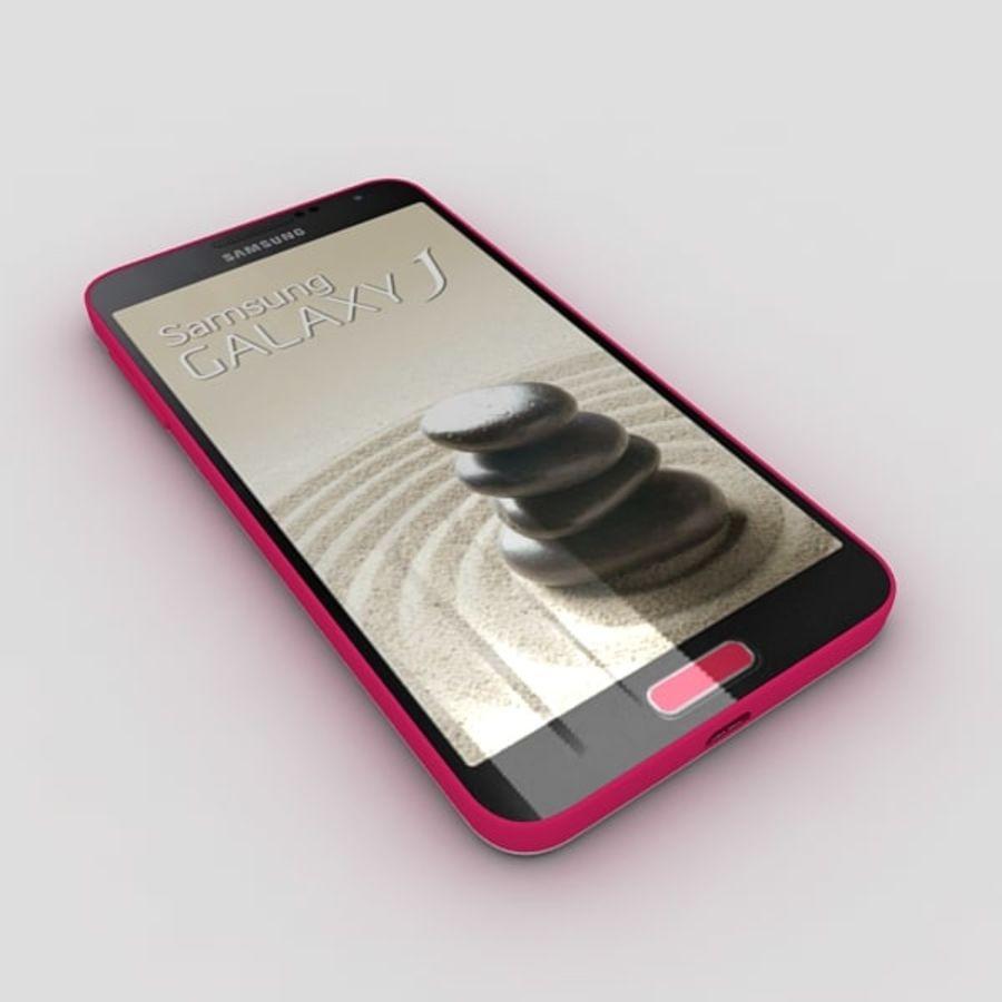 Samsung Galaxy J royalty-free 3d model - Preview no. 5