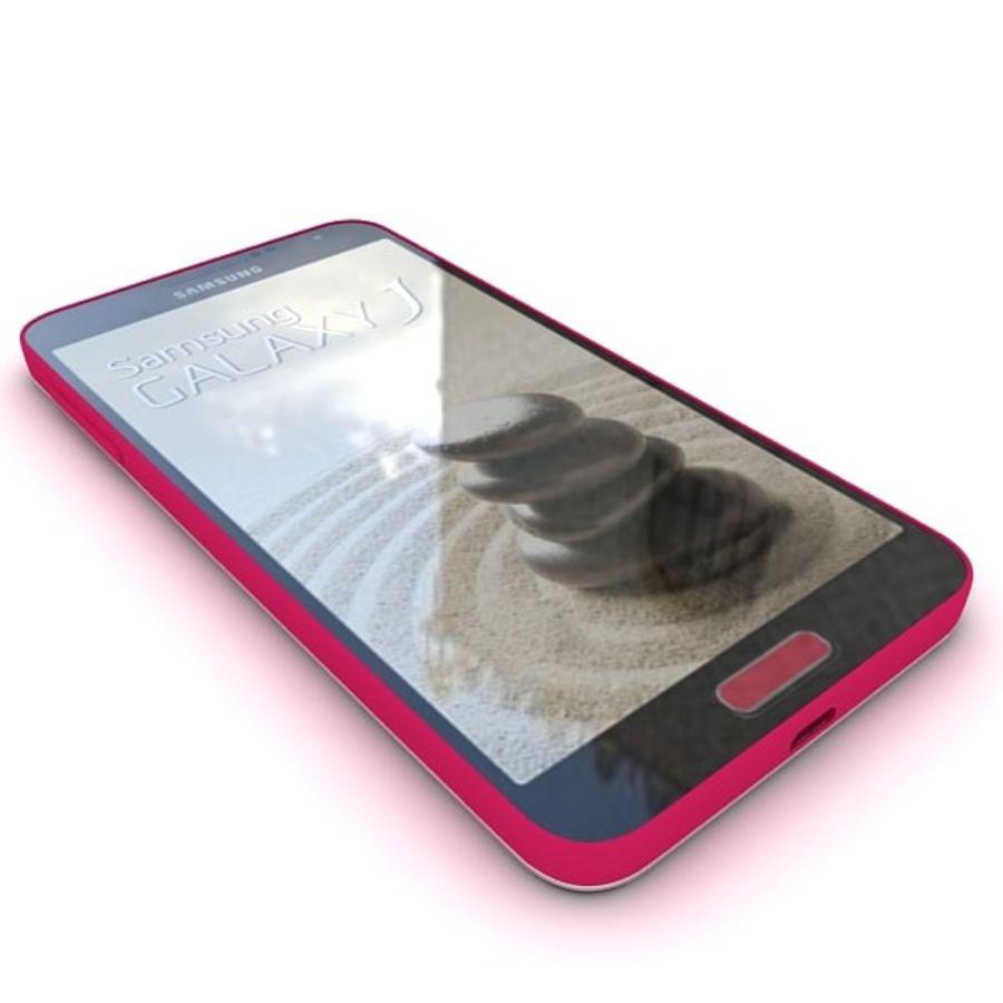 Samsung Galaxy J royalty-free 3d model - Preview no. 10