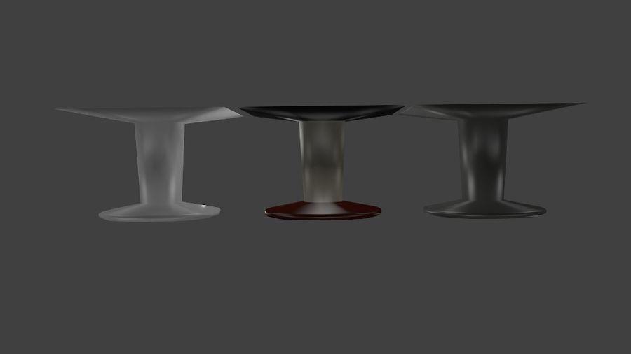 kare masa royalty-free 3d model - Preview no. 3
