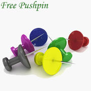 Pushpin 3d model