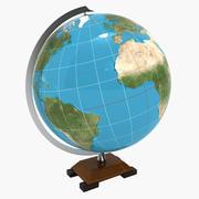 Globe élégant 3d model