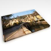 Foto da parete su tela 3d model