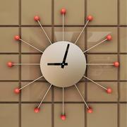 Dekoracyjny zegar ścienny 3d model