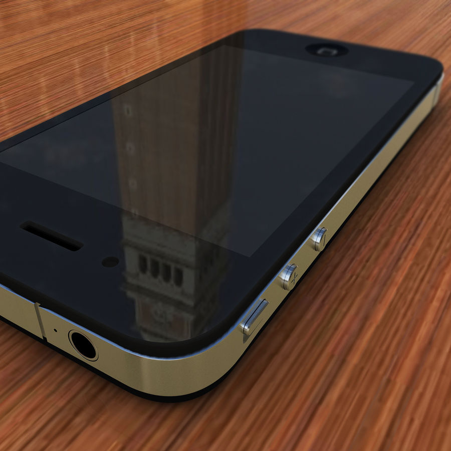 Apple iPhone 4 royalty-free 3d model - Preview no. 5