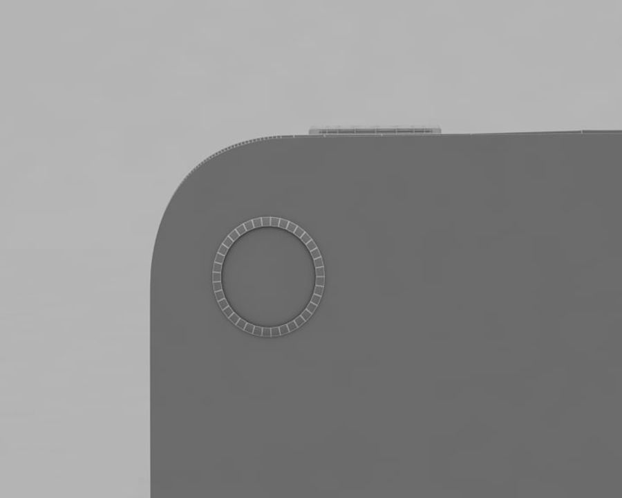 Apple iPhone 4 royalty-free 3d model - Preview no. 9