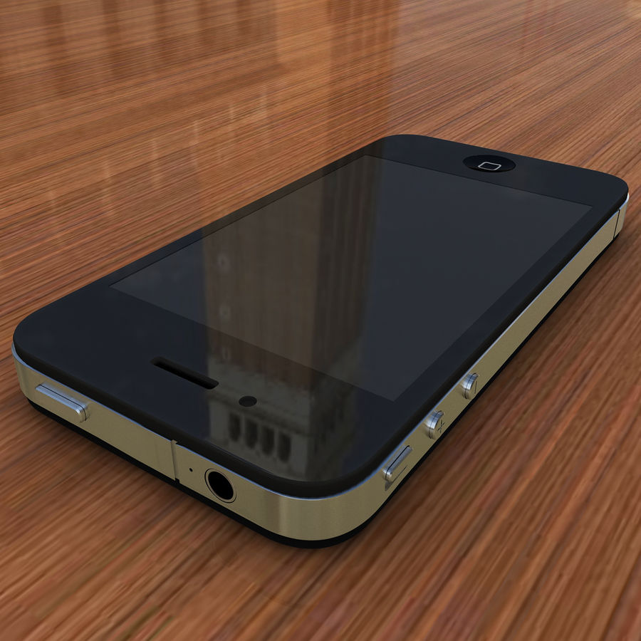 Apple iPhone 4 royalty-free 3d model - Preview no. 2