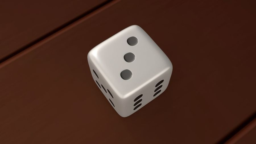 Dice royalty-free 3d model - Preview no. 4
