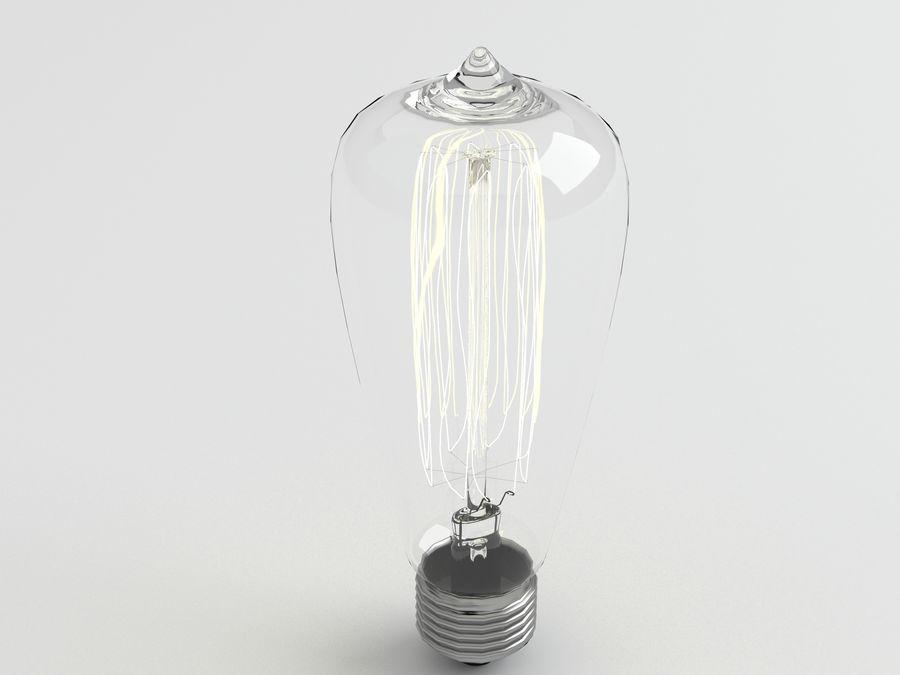 Luz de bombilla 3 royalty-free modelo 3d - Preview no. 5