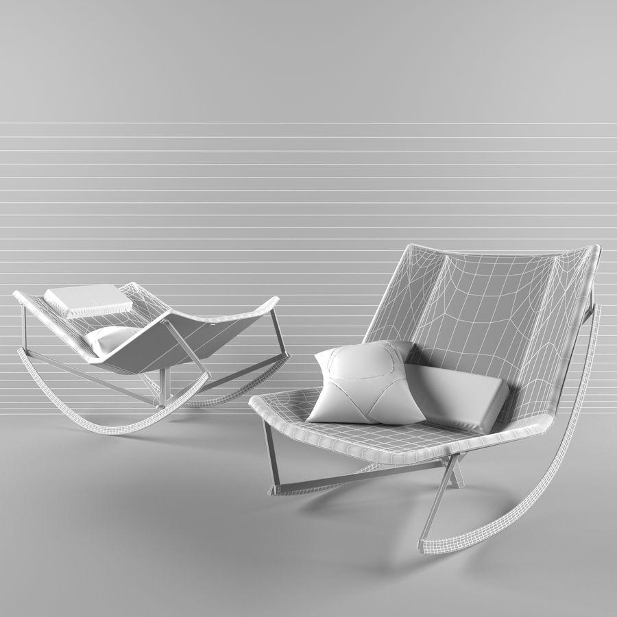 stoel schommel voor twee royalty-free 3d model - Preview no. 3