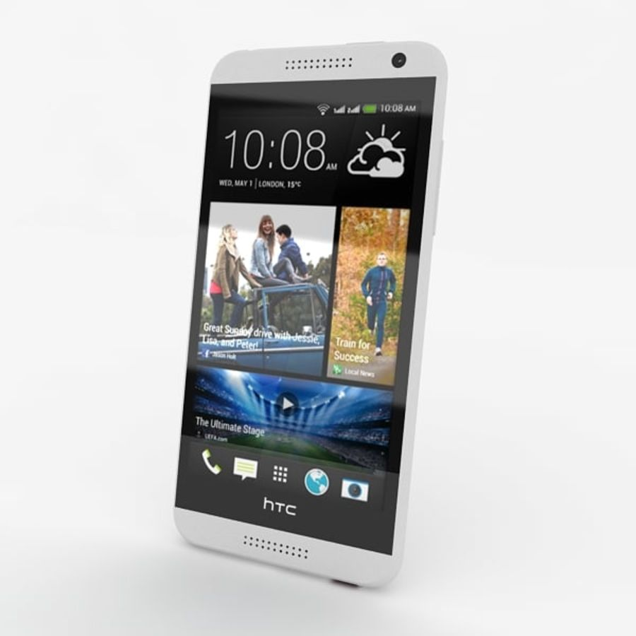 htc desire 610 royalty-free 3d model - Preview no. 10