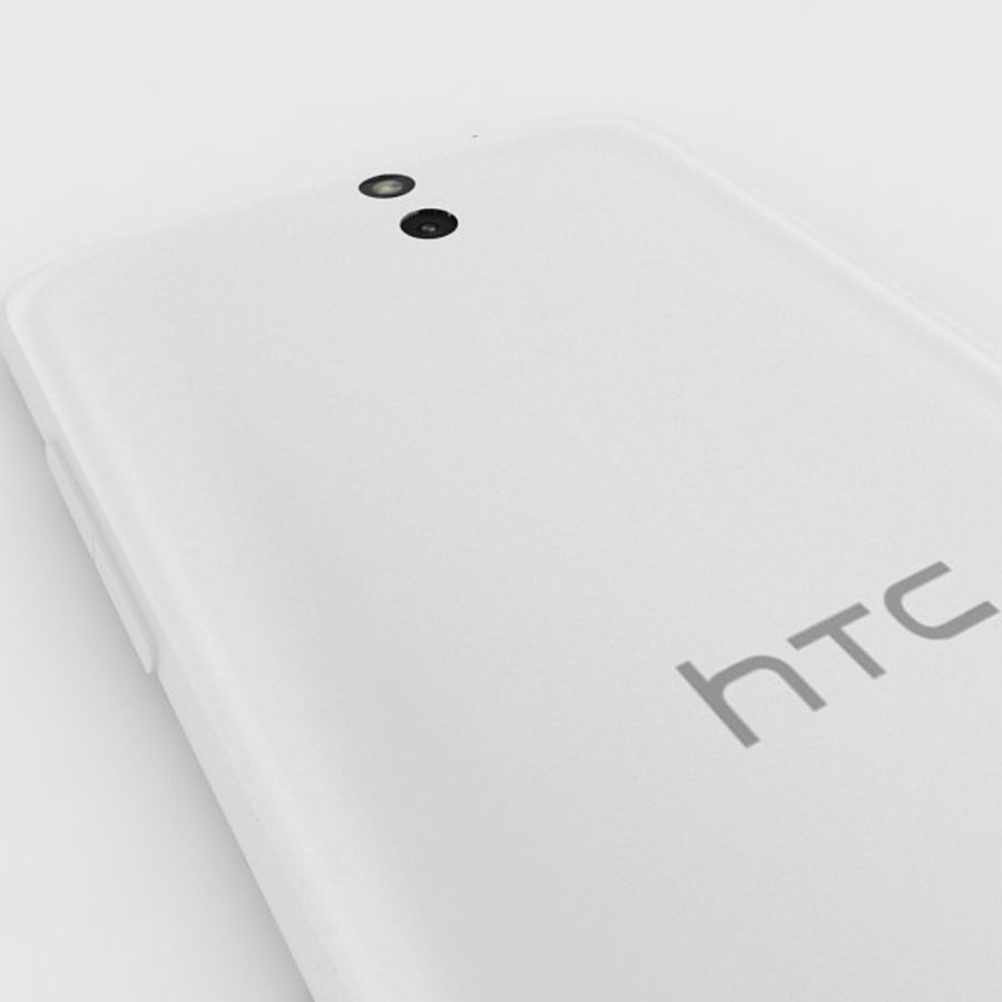 htc desire 610 royalty-free 3d model - Preview no. 6