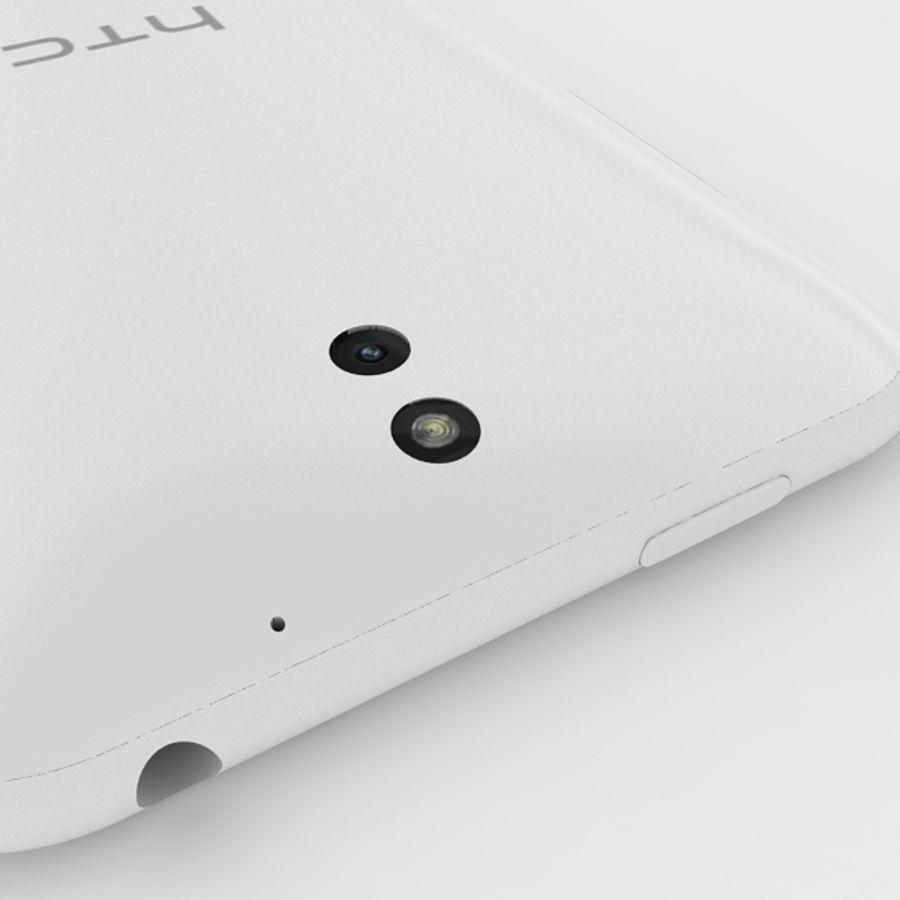 htc desire 610 royalty-free 3d model - Preview no. 7