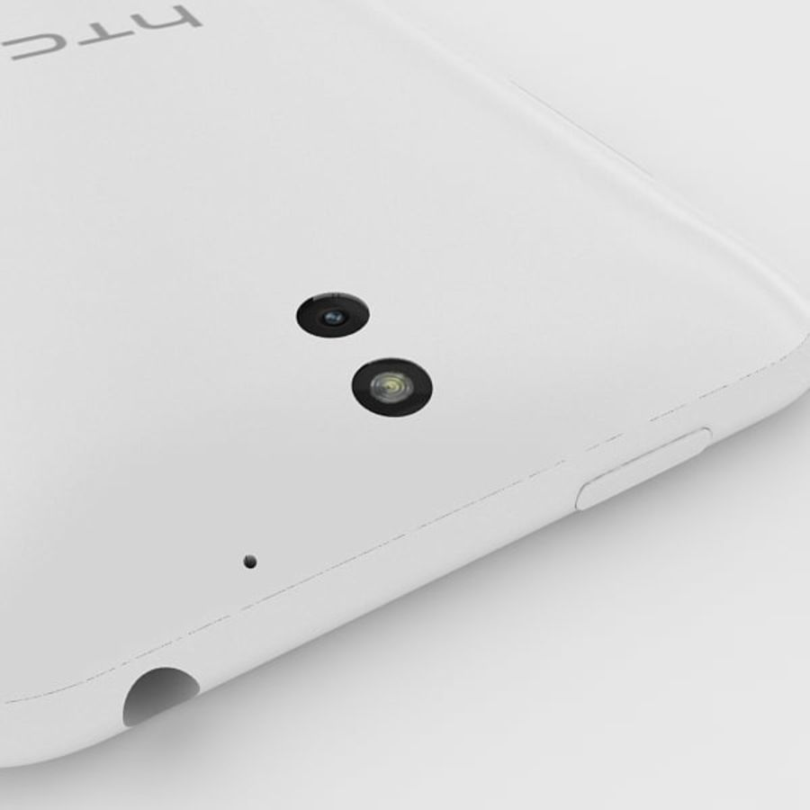 htc desire 610 royalty-free 3d model - Preview no. 7