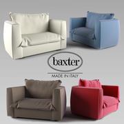 의자 가슴 3d model