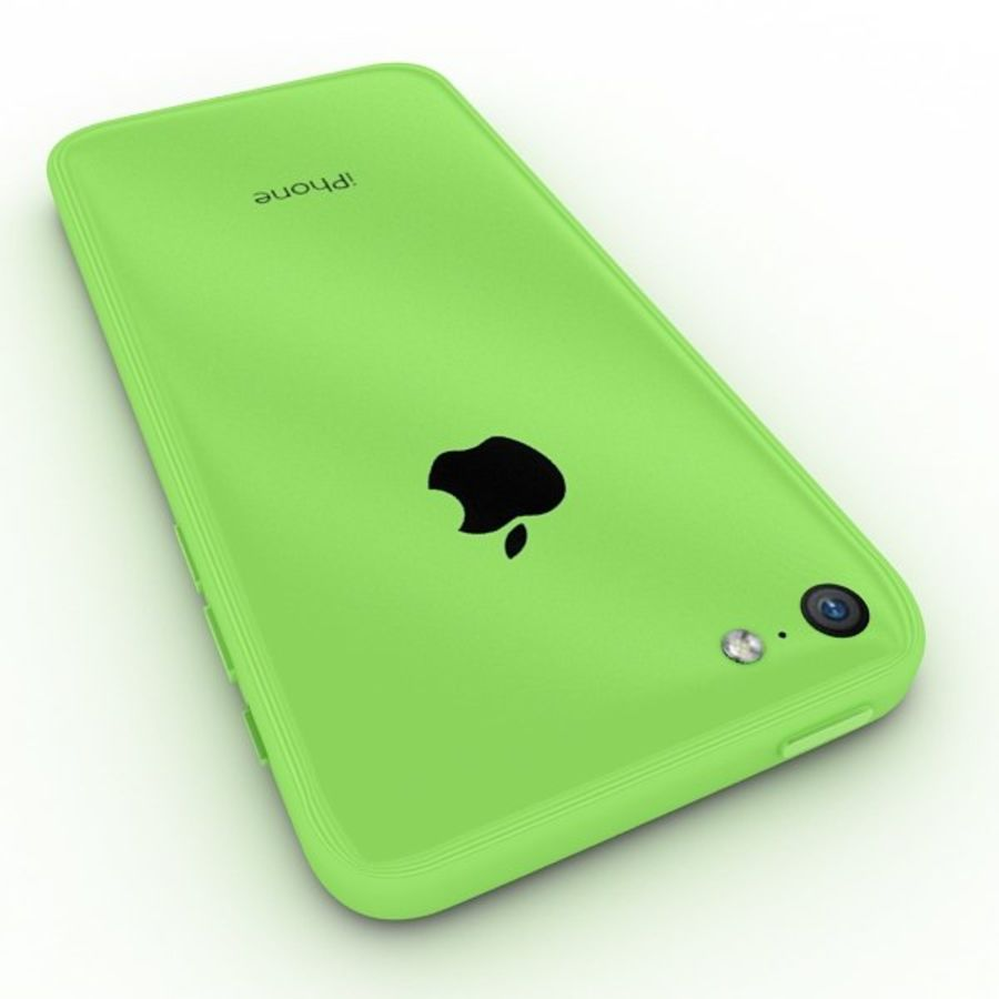 Apple Iphone 5c royalty-free 3d model - Preview no. 5