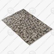 BoConcept Cowhide rug 106071006790 3d model