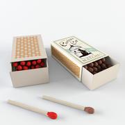 Matchbox - Matchstick 3d model
