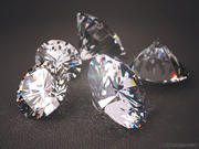 Diamond realistic 3d model 3d model