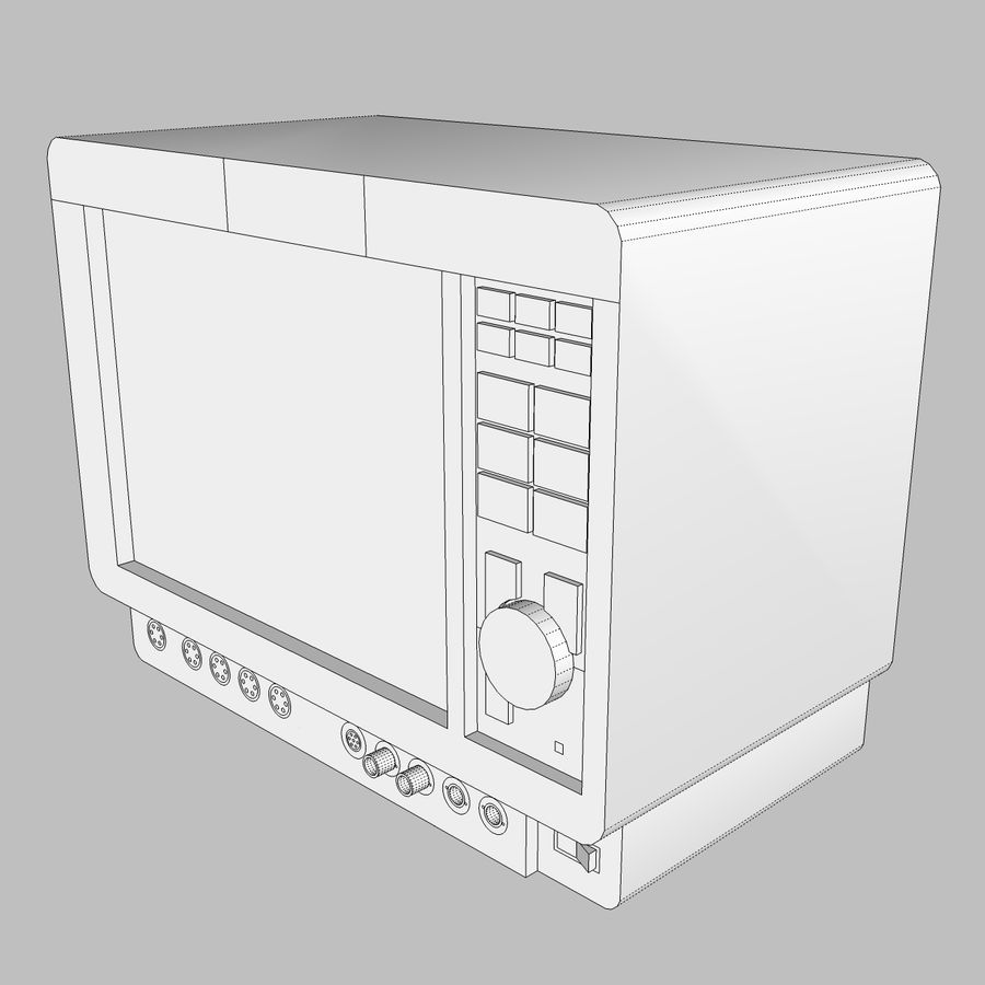Hospital / Medical Equipment royalty-free 3d model - Preview no. 15