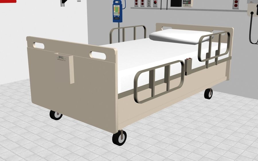 Hospital / Medical Equipment royalty-free 3d model - Preview no. 13