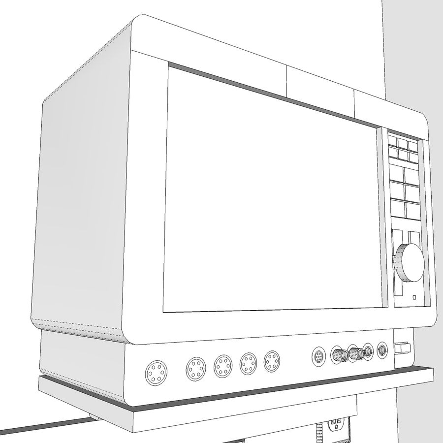 Hospital / Medical Equipment royalty-free 3d model - Preview no. 30