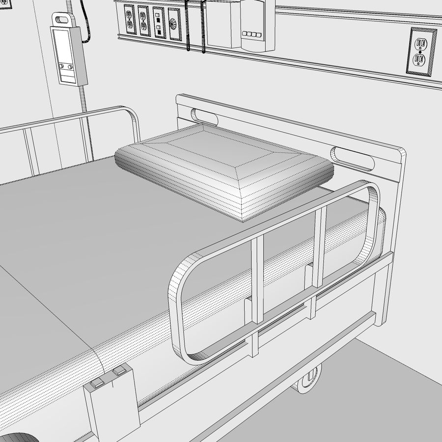 Hospital / Medical Equipment royalty-free 3d model - Preview no. 27