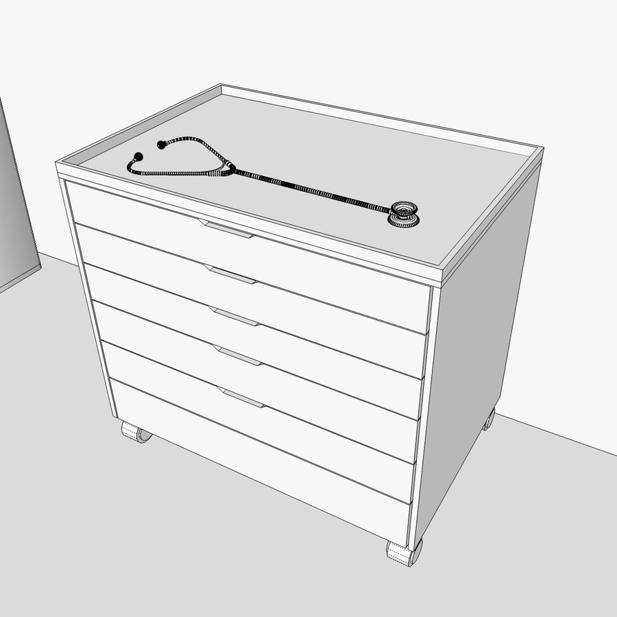 Hospital / Medical Equipment royalty-free 3d model - Preview no. 33