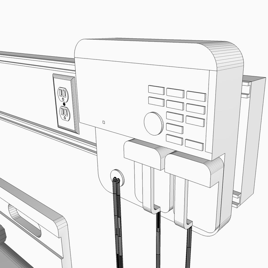 Hospital / Medical Equipment royalty-free 3d model - Preview no. 26