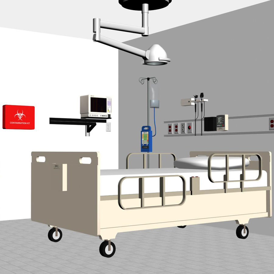 Hospital / Medical Equipment royalty-free 3d model - Preview no. 1