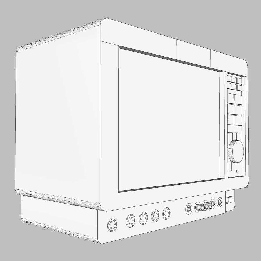 Hospital / Medical Equipment royalty-free 3d model - Preview no. 16