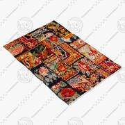 SILKEBORG rug Ikea 3d model