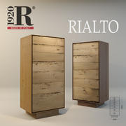 Wood modern sideboards Rialto RIVA 1920 3d model