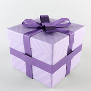 Caixa de presente 3d model