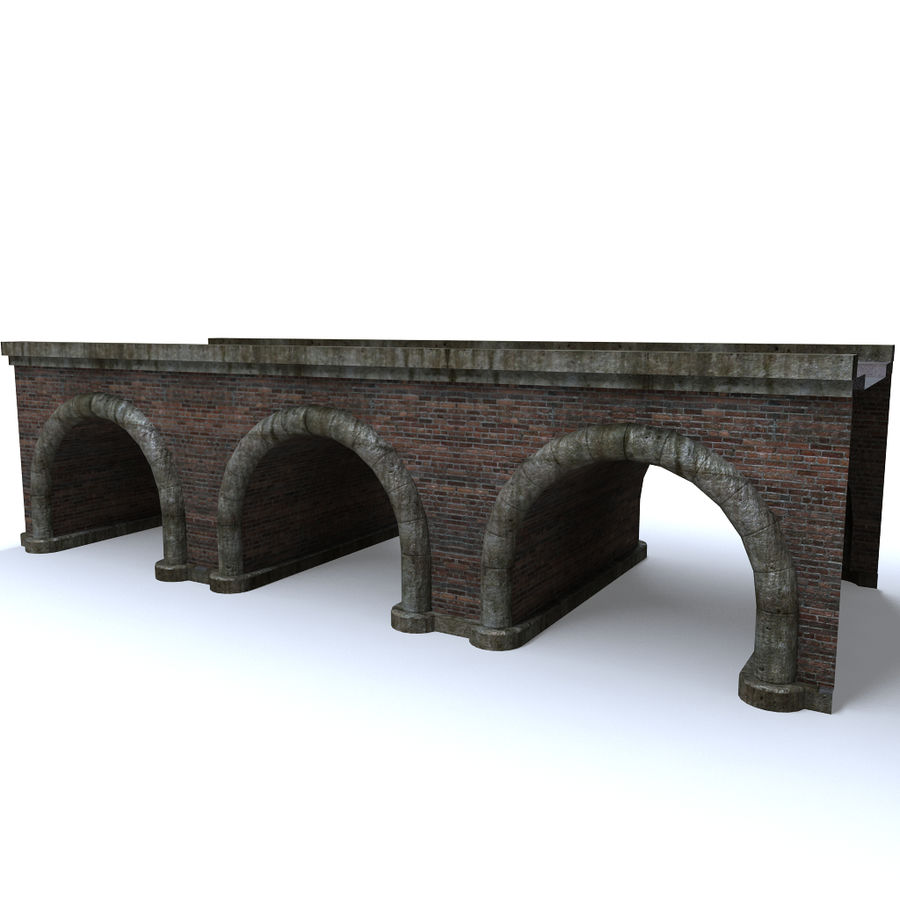 ponte royalty-free 3d model - Preview no. 1