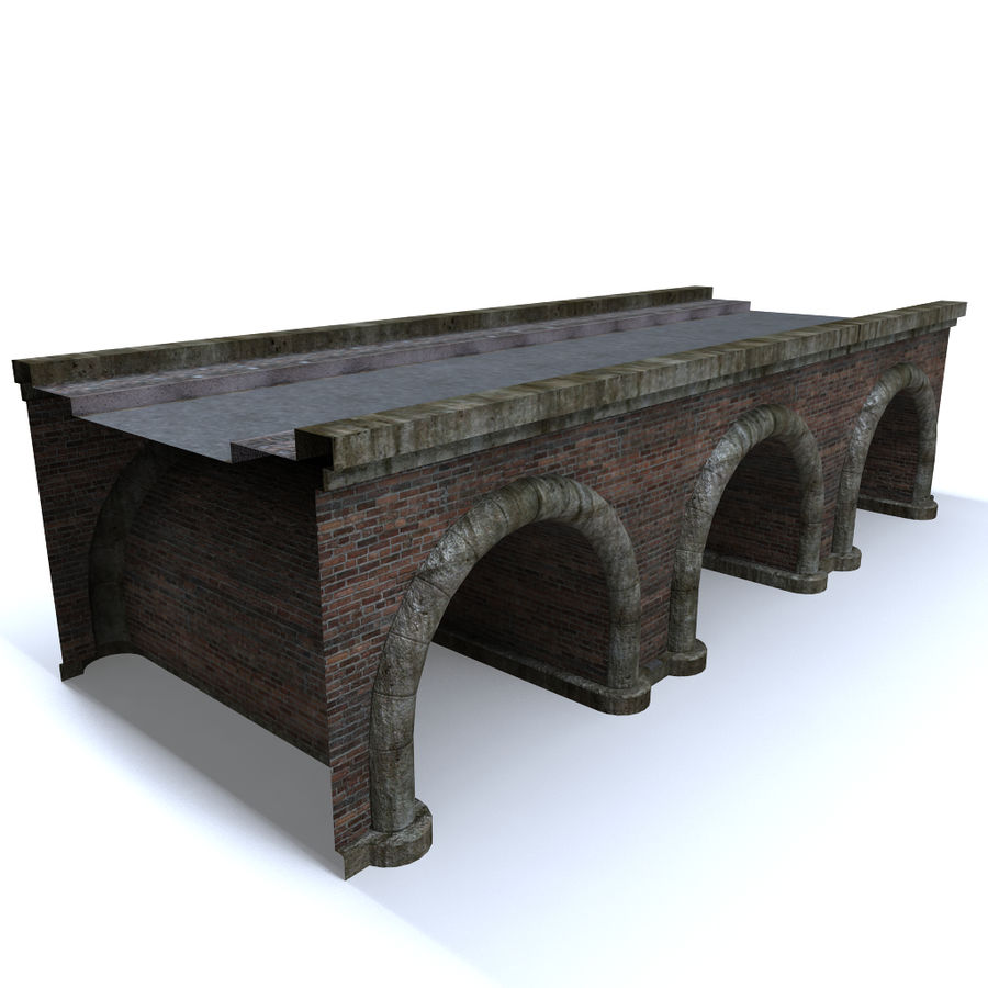 ponte royalty-free 3d model - Preview no. 2