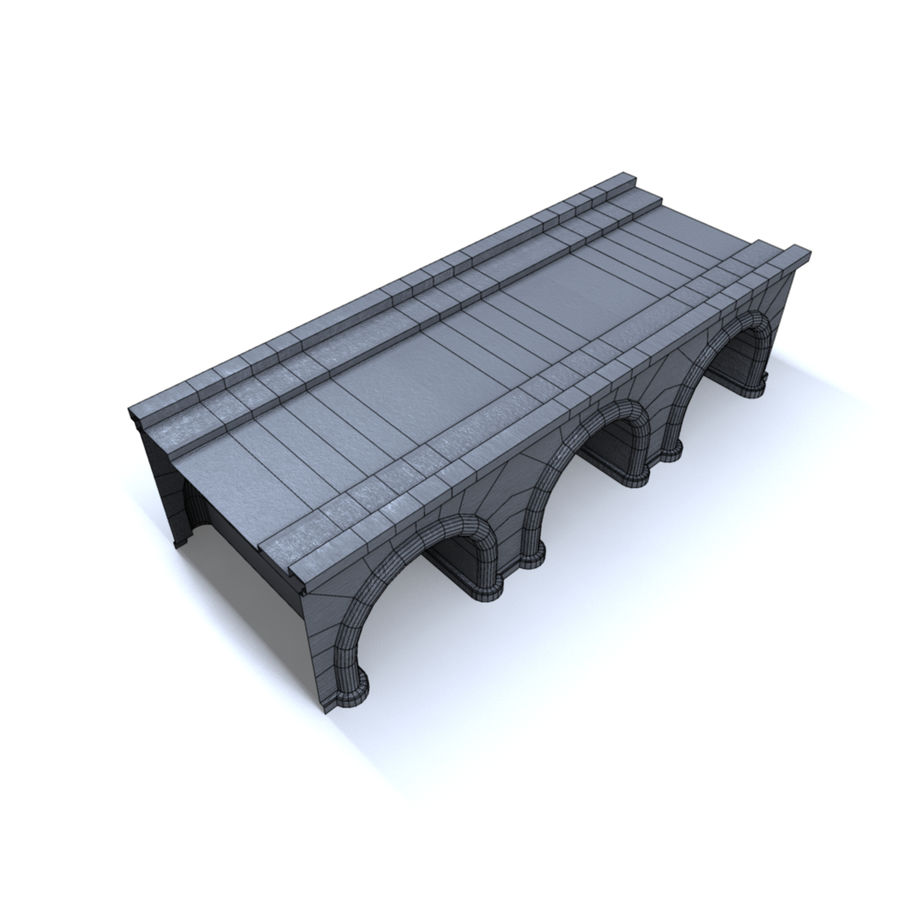 ponte royalty-free 3d model - Preview no. 5