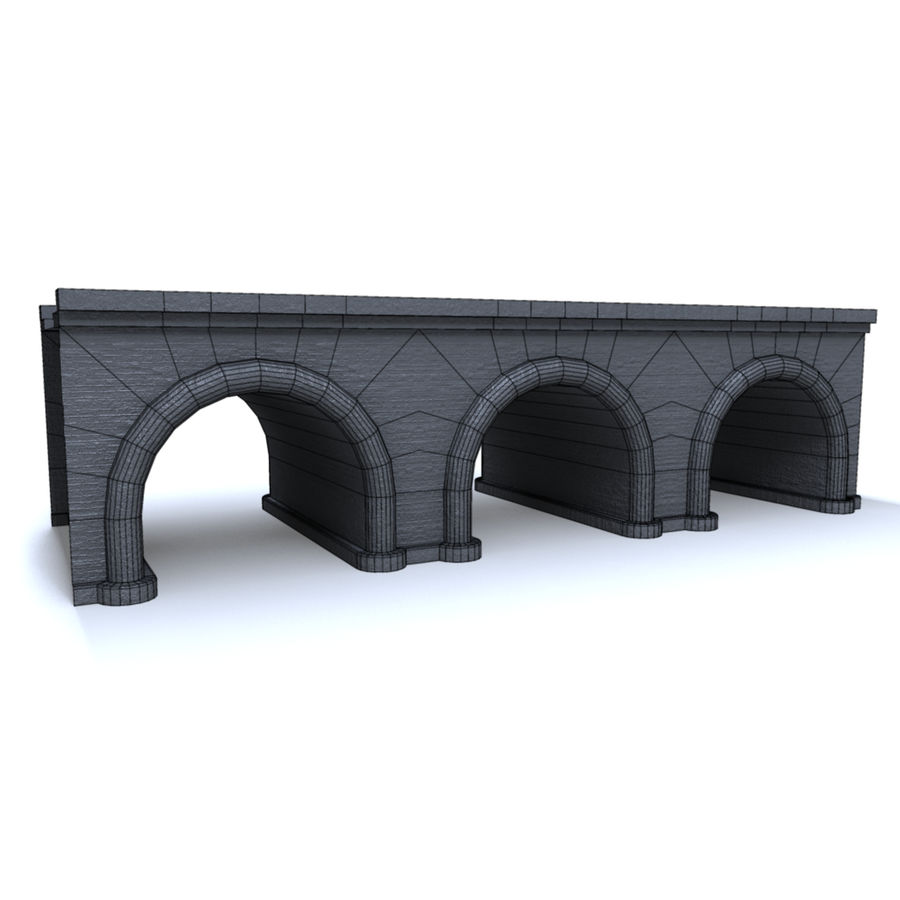 ponte royalty-free 3d model - Preview no. 6