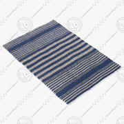 Dash And Albert Beckham Stripe Rug 3d model