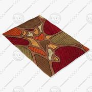 Momeni地毯摘要NW102TAU 3d model