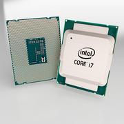 Intel i7 Prozessor 3d model
